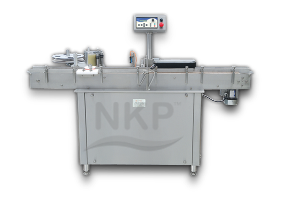 N.K.P. Pharma is a Leading Manufacturer of Automatic Self Adhesive Vertical Labelling Machine.