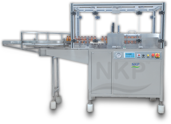 N.K.P. Pharma offers Automatic Air Jet Cleaning Machine