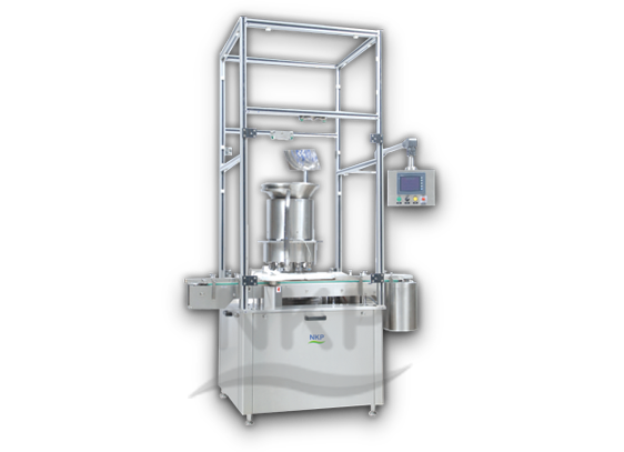 N.K.P. Pharma offers Automatic Vial Sealing Machine.