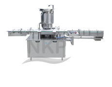 N.K.P. Pharma is a Leading Manufacturer of High Speed Vial Sealing Machine with Compression Pressure Indication & Rejection System.